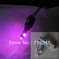 20PCS T5 3smd Purple led Car Light Dashboard Gauge Background Cluster Instrument Lamp Indicator Lamp Warning Light 18 70 73 79