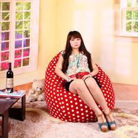 FREE SHIPPING red dot adult bean bag modern bean bag sofa chair luxury cotton sofa  water-drop outdoor waterproof large bean bag