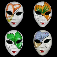 Free Shipping Luxury Venetian Masquerade Ball Cosplay Halloween Party Masks Antique Christmas Butterfly Pulp Colored Drawing Mas