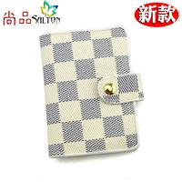 3 2 card holder female multi card case card holder bank card case elegant document package 2013 plaid
