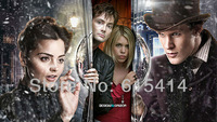 "21 Doctor Who space travel BBC TV show 50th anniversary 42""x24"" inch wall Poster with Tracking Number"
