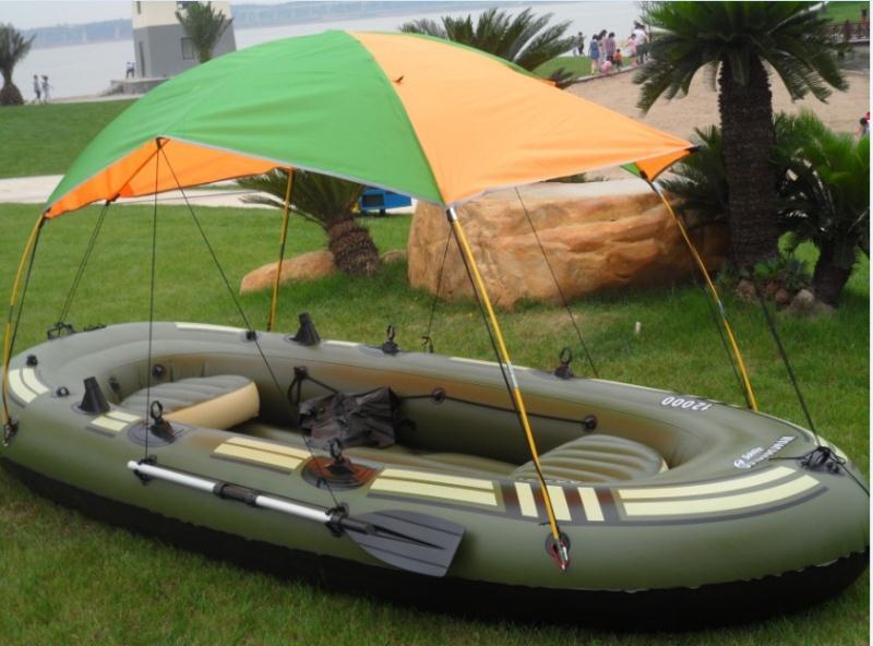 Thickening hard ship 4-6 inflatables inflatable boat fishing boat pump Large pump(China (Mainland))