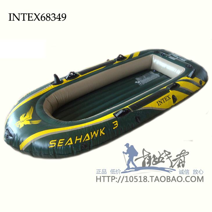 гребная лодка intex 68349 seahawk 300