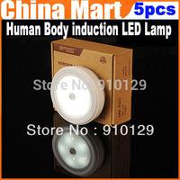 Free Shipping 5pcs/lot  Human Body induction LED Lamp ,Neight Lamp,Corridor lights