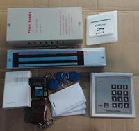 Card access control set single door double door access control set magnetic lock set