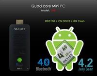 RK3188 Quad Core Mini PC MEASY U4B Rockchip Android 4.2 TV Stick Box 2GB 8GB ROM With Bluetooth 4.0 TV BOX