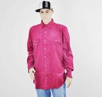 Hip hop Le'jaunty men's long-sleeve shirt -urban clothing