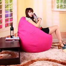 FREE SHIPPING purple bean bag chair rose bean bags chairs cotton bean bag  sofa chair luxury sofa  bean bag covers only(China (Mainland))