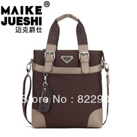 MIKEJAZZ Brand men's brief handbag canvas casual shoulder messenger bag High Quality