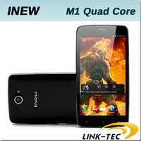 New arrival inew M1 MTK6589 quad core 1.2GHz 5.0 inch capacitance screen 1GB RAM 4GB ROM 3G GPS Android 4.2 unlocked cell phone