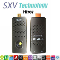 Mini PC HI707 with  Android 4.2 RK3188 Quad Core ARM Cortex-A9 1.8GHz 2GB /8GB  WIFI Bluetooth Camera 3G USB Dongle