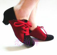 Women's adult soft outsole in low-heeled dance shoes modern Latin isointernational dance shoes