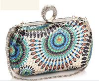 Genuine Leather Natural Skin Chain Vintage Evening Bag Brand Name Wallet Shoulder Bag Day Clutch Bag Free Shiping A20