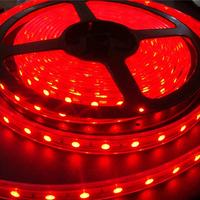 LED flexible strip light or string single color 120 pcs SMD 3528 waterproof DC12V free shipping 100m/lot