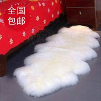 Carpet and Rug Wool carpet sheepskin wool sofa cushion piaochuang blanket bed blankets wool blanket customize