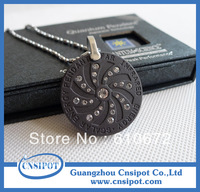 fashion crystal nano quantum scalar energy pendant