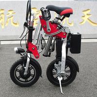 e-bike Electric bike 12 mini electric bicycle folding bicycle lithium e-bike battery bicycle folding