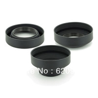 100% guaranteed 77MM Rubber Collapsible Lens Hood for Canon EF 10-22mm 24-70mm 70-200mm 24mm