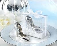 New arrival Cinderella shoe bottle opener 10PCS/LOT Wine set wedding favor popular gifts+Free shipping