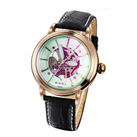 Simim mechanical watch magic glass dial mechanical unisex table cutout automatic mechanical watch