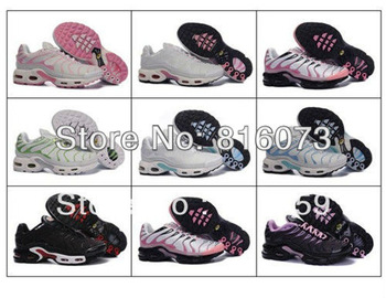 Wholesale Fashion TN Running Shoes Brand Women Athletic Shoes Massage Breathable Sport Shoes Size 36-40