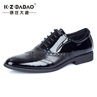New arrived men fashion business leather shoes wedding shoes casual pointed shoes hj566