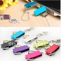 Simple swivel capless flash disk 4GB 8GB  Free shipping Free engrave logo