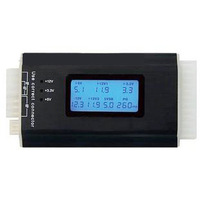 Atx power supply tester lcd display screen computer case power supply diagnostic tester free shipping