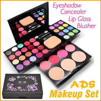 ADS 6328 24 Color Cosmetic Beauty Eyeshadow Makeup Set Eye Shadow Concealer Blusher Lip Gloss Palette
