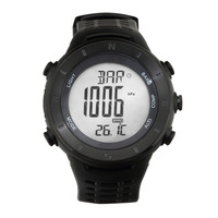 Free shipping Newest Altimeter/Compass Wrist Watch with Barometer Hot selling High waterproof
