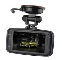 GS8000 Car camera/ 2.7inch LCD(1920*1080) 170 degrees wide Angle / HD 1080p recorder night vision +  G-Sensor + Free shipping