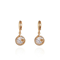 Wholesale 6pairs of  new fashion 18k  gold filled earring  Women Earring   free shipping  #0209