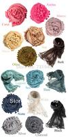 free shipping 2014dupatta  matta scarves ball scarf cape star style scarf  multicolor