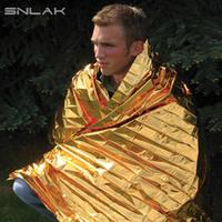 Snlak outdoor first aid blanket emergency blanket rescue blanket insulation blanket sun blanket