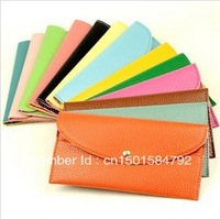 2013 new wave of female bag small envelope Wallet Korean women bag colorful candy color card pack spike 039