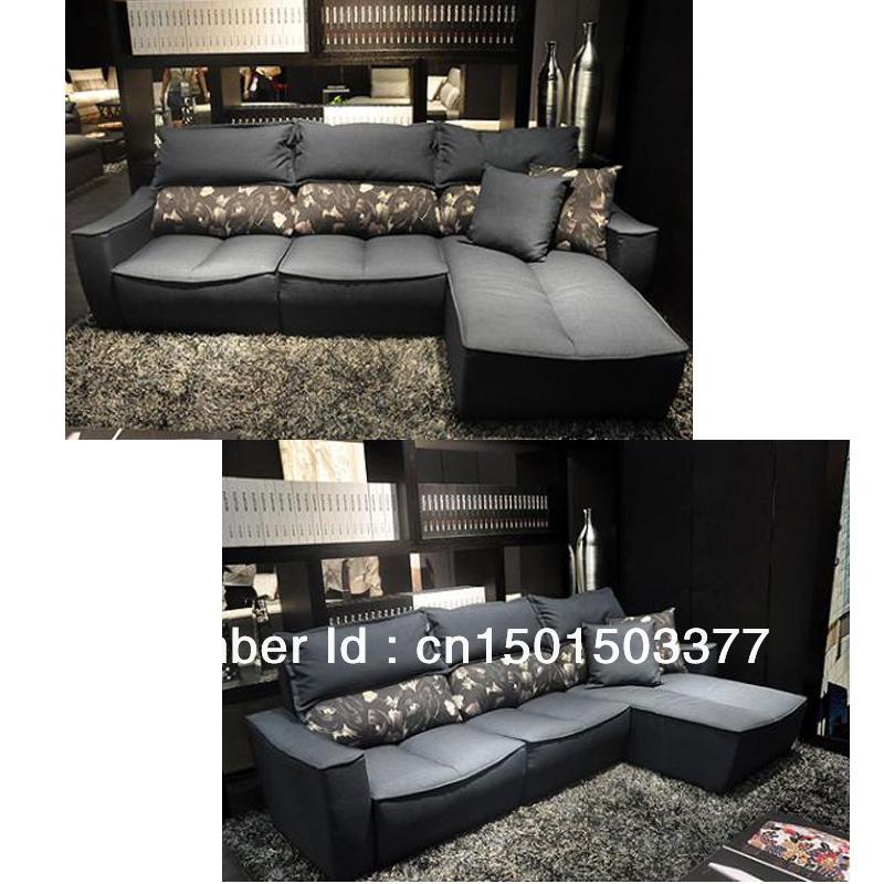 Bao Haiyun Compact Design Fabric Sofa L Combination Of Modern Large Sized Apa