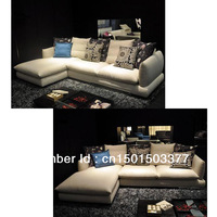 Bao Haiyun super comfortable furniture simple sofa combination of L type large living room sofa
