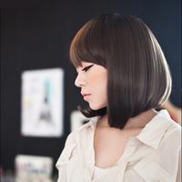 Wig girls short hair bobo fashion female fluffy pear jiafa