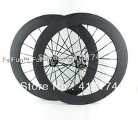 FULLFUN 50mm 451 Carbon Wheelset 20inch 20'' Clincher Road Bike Folding Bike Full Carbon UD Matte Novatec 271/372 100mm/130mm