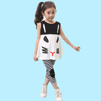Free shipping Baby Set Children's set kid's t-shirts girlst shirt+pants cute set,clothing set,Children's clothing