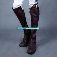 Shingeki no kyojin Attack on Titan Giant cos allen high-leg boots shoes Attack on Titan Cosplay