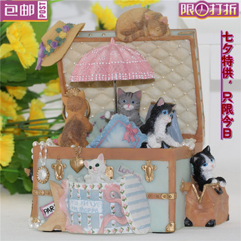 FREE SHIPPING HOT wedding souvenir child souvenirs Rotary umbrella lift cat carousel music box birthday gift  FREE SHIPPING