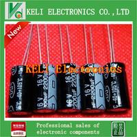 Free shipping  200PCS/LOT  2200uF 16V  Radial Electrolytic Capacitor 10*20MM 100% new original