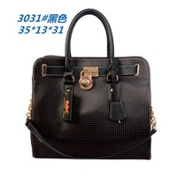 Designer  band bags High Quality Women's  Black Tote leather Large  Bag mysterious gthic Handbag Wholesale Price