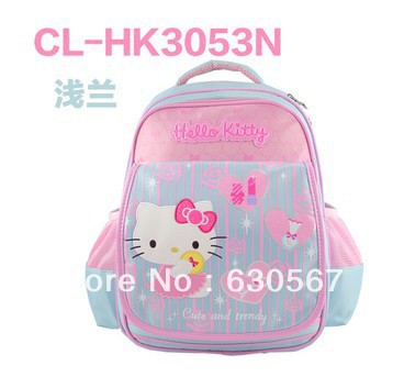 High quality! Freeshipping! HELLO KITTY backpacks, Lovly backpack cartoon school bag Children's school bags, Large size(China (Mainland))