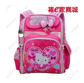 High quality! Freeshipping Sanrio Hello Kitty Backpack school Satchel Tote Bag Book Bag(China (Mainland))