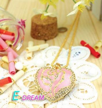 E-DREAM Wholesale Cheap Cartoon Pink Heart 4GB 8GB 16GB 32GB USB Flash Drive Thumb/Car Pen drive Personality Gift(China (Mainland))