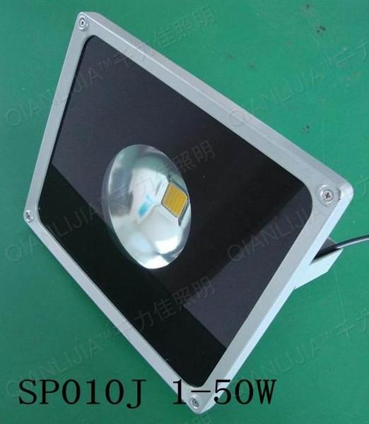 Led flood light densing spotlights 50w flodlit advertising lamp sign lights high pole lamp(China (Mainland))