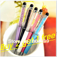 Buy 2 get 1 free!!!   Promotion Different Color Swarovski Crystal Pen,Ballpoint/RollerBall/Rollerball Pen
