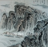 Chinese traditional mountains-and-waters painting Landscape Chinese Painting and Calligraphy